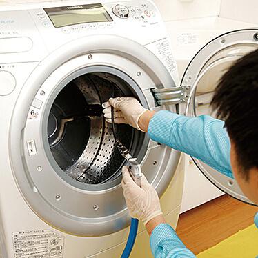 全自動洗濯機除菌サービス
